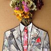 Untitled 19 (suit and flowers)