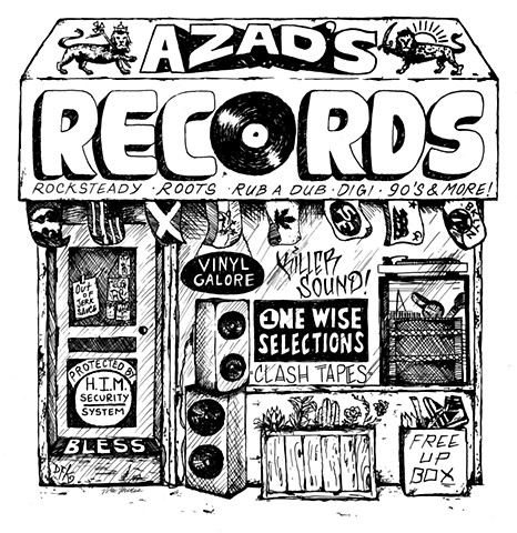 Azad's Records