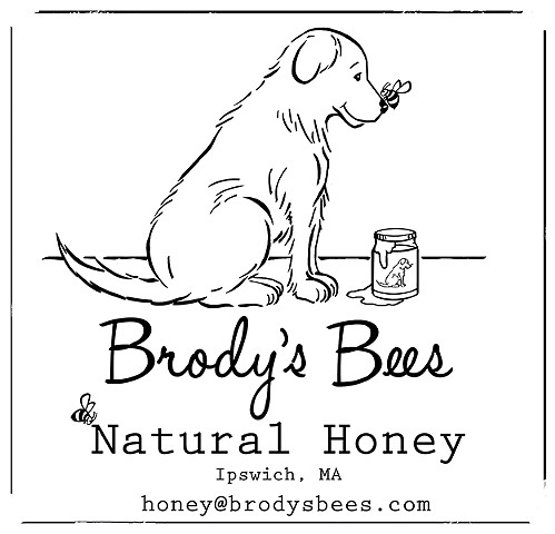 Logo for Brody's Bees Honey, 2016