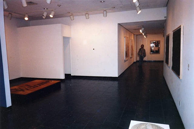 "Installation - ""Rush the Court"" Leubsdorf Gallery, Hunter College"