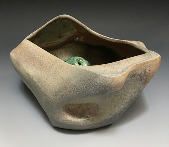Porcelain Serving / Flower Bowl View 3