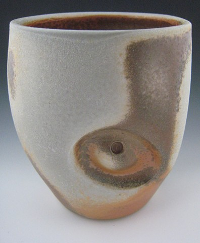 Cup, Porcelain, Wood Fired
