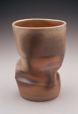 Wood Fired Stoneware Tumbler