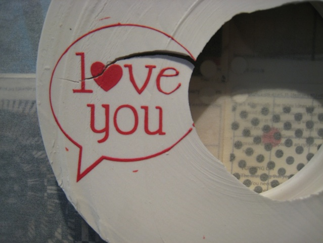 Love You (Stutter) Detail