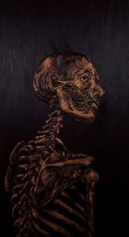 Self Portrait w/ Facial Nerves