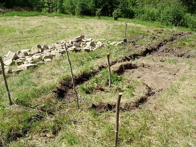 Mid-Excavation