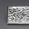 Silver Repousse Belt Buckle