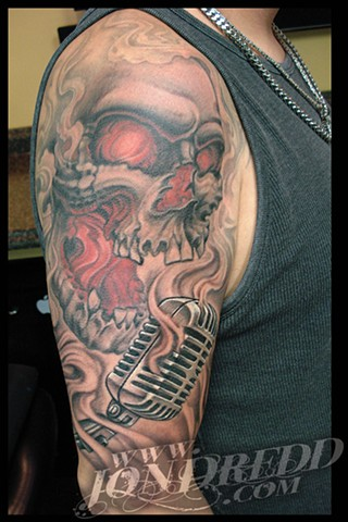 crucial tattoo studio best tattoos salisbury maryland tattoos jonathan kellogg jon dredd snow white disney tattoo delaware ocean city skull mic smoke scream