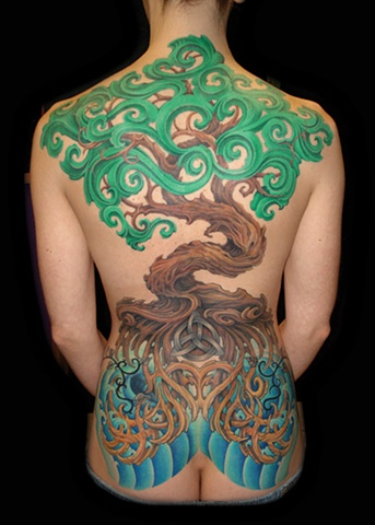 Salisbury Maryland tattoos crucial tattoo studio tree tattoos celtic knot roots tattoo