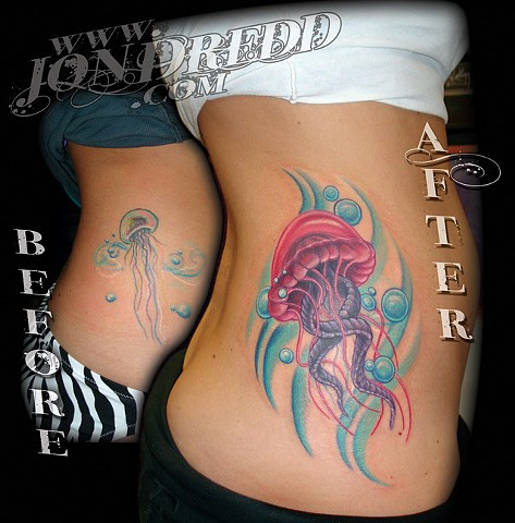 crucial tattoo studio salisbury maryland tattoos jonathan kellogg jon dredd jellyfish tattoo delaware ocean city