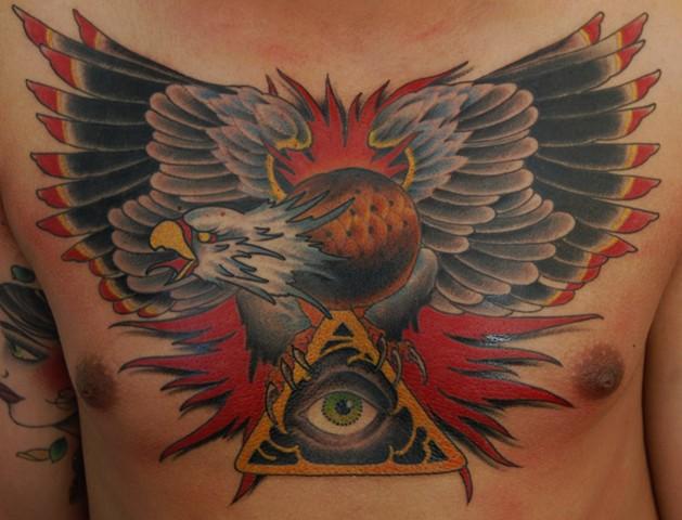 eagle chest piece