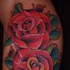 roses. Inner arm