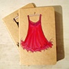 Babydoll Nightie Moleskine Notebook  by Linda Boucher