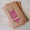 Pink Camisole Moleskine Notebook by Linda Boucher