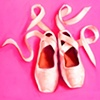 Bubblegum Pink Ballet Shoes by Linda Boucher