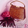 Handbag and Gloves by Linda Boucher