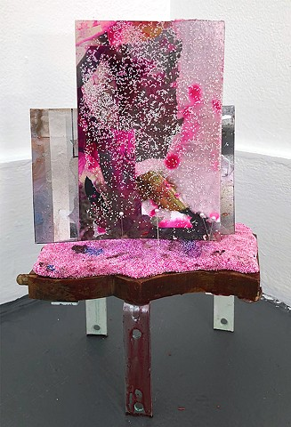 Inverted Mirror: Magenta (Installation View)