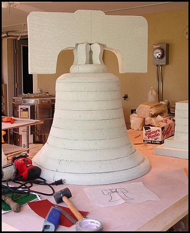 Liberty Bell in Progress