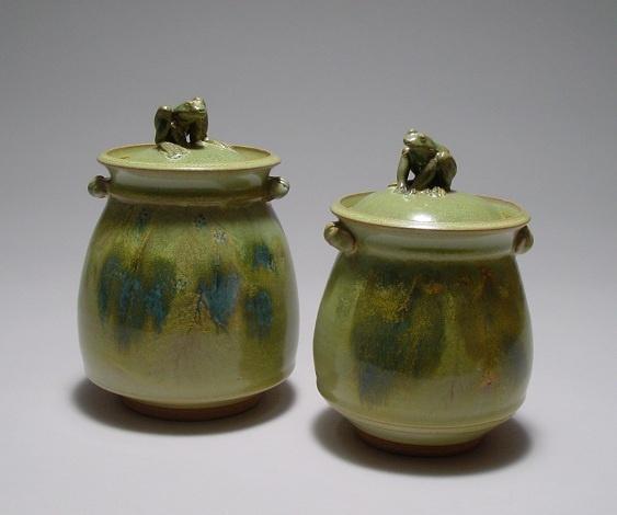Lidded jars