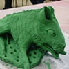 Baby Boar by Carolyn Washington, in progress