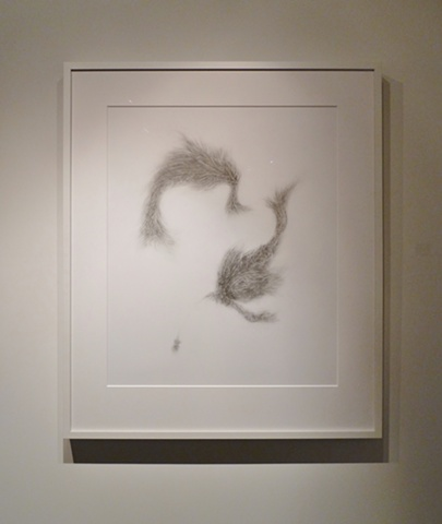 """Whirling Biomorphic Forms"" (photo from Exhibit A Gallery in 2011)"