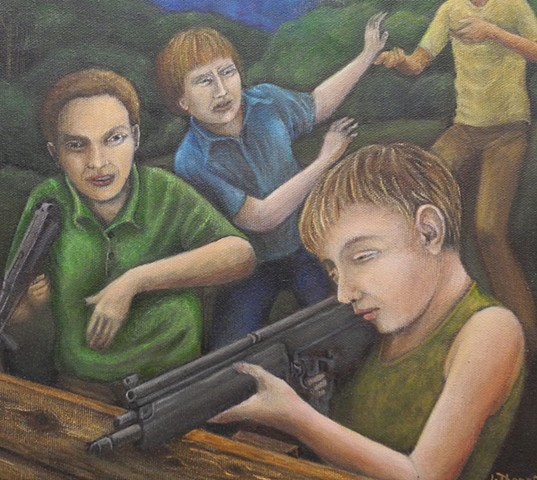 'boys and guns'