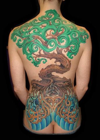 tree tattoos celtic knot roots tattoo salisbury maryland