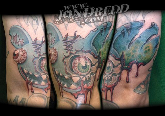 deadmau5 crucial tattoo studio salisbury maryland delaware jon dredd kellogg tattoos