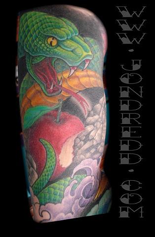 Sacrificial Sleeve -Snake
