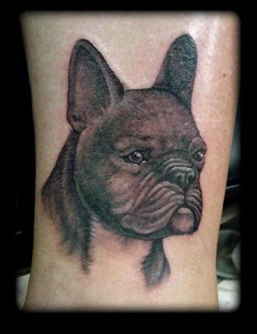tattoo dog portrait face tattoos salisbury maryland