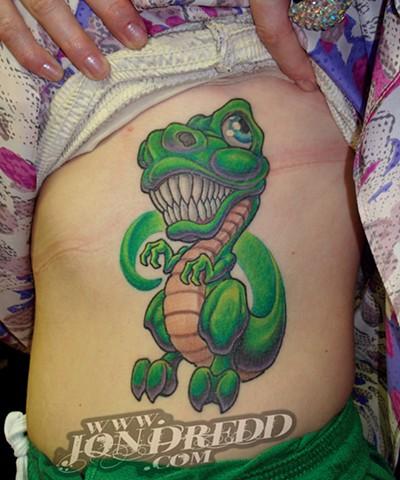 dino rex crucial tattoo studio salisbury maryland delaware jon dredd kellogg tattoos