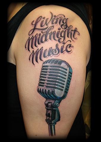 microphone crucial tattoo studio salisbury maryland tattoos