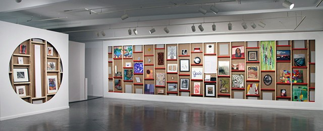 Debtfair @ Art League Houston, Installation Shot