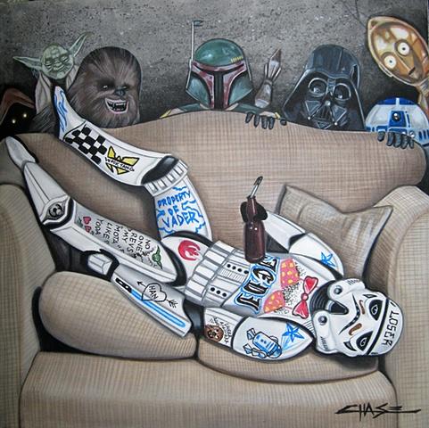 You've Been Vader'd