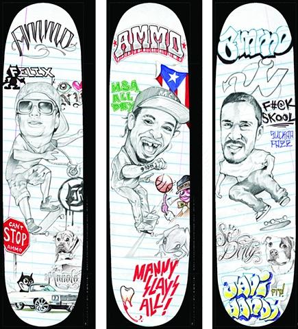 "AMMO Skateboards ""Summer School"" Series"