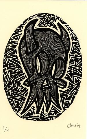HornedSquid Calavera