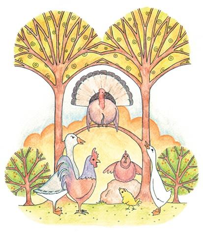 Chicken Licken illustration
