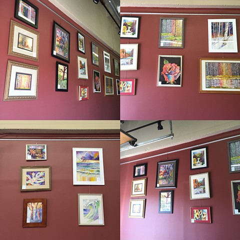 Exhibit of 30 pieces at the Someplace Else Brewery Arvada Colorado