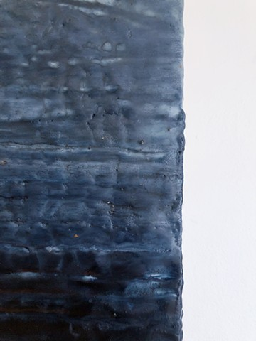natural dyes, encaustic painting, indigo, stephany latham