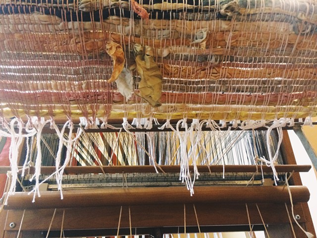 Natural Dye Silk Weaving Pt. II