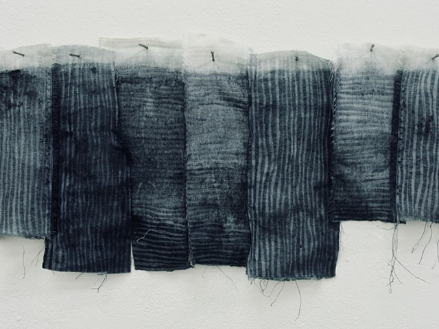 Stephany Latham; Indigo, Natural Dyes, Weaving, Textiles