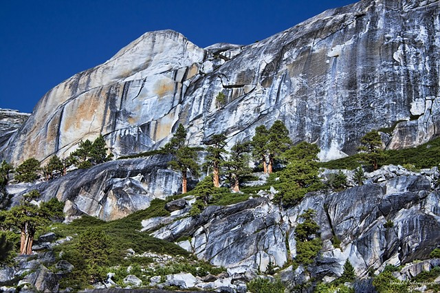 Granite Walls in Yosemite