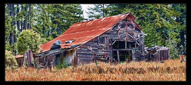 Awaiting Restoration, Old Barn - Northern California