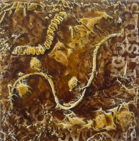 N. Blanca, artwork, assemblage