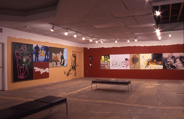 Installation view (Forest City Gallery)