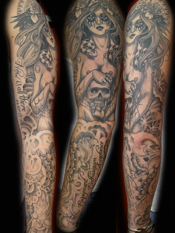 Death Goddess Sleeve