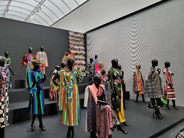 "Duro Olowu's incredible original fashions inspired by his ""Seeing Chicago"" experience."
