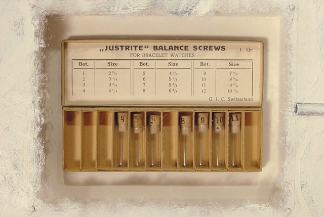 Rituals and Reliquaries: Just Rite Balance Screws