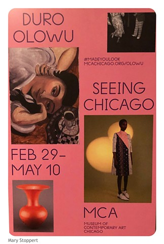 "MCA, Chicago ""Duro Olowu Seeing Chicago"""