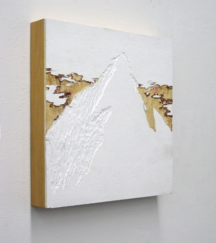 Untitled (White Mountain) (detail)